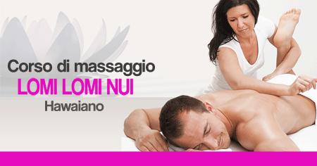 Corso di Massaggio hawainano Lomi Lomi Nui