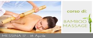 Corso di Bamboo Massage Messina