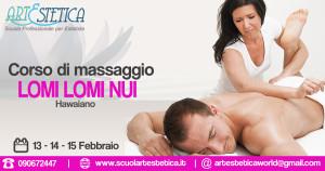Corso Massaggio Hawaino lomi lomi nui